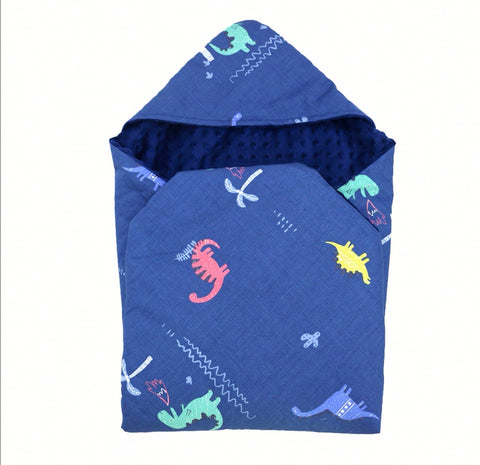 Little Love 3 point harness car seat Blanket Dinosaurs