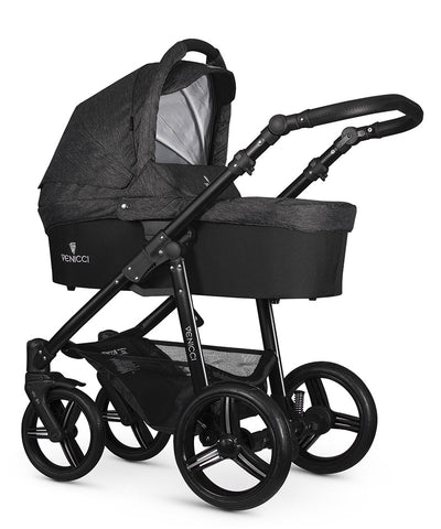 Venicci Soft Ed 2in1 - Black- Black