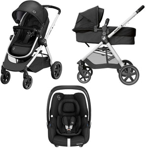 MC ZELIA2 + CAR SEAT ESSENTIAL BLACK