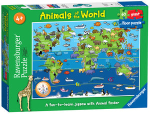 Animals Of The World 60 Piece Jigsaw