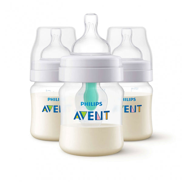 Avent Anti Colic Bottles 4oz - 3pk