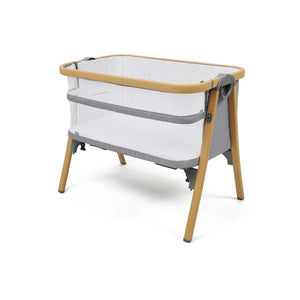 Babylo Nod Co-Sleeper-Grey/Woodlook