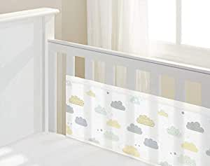 Breathable Baby Cot mesh liner Cloud 9