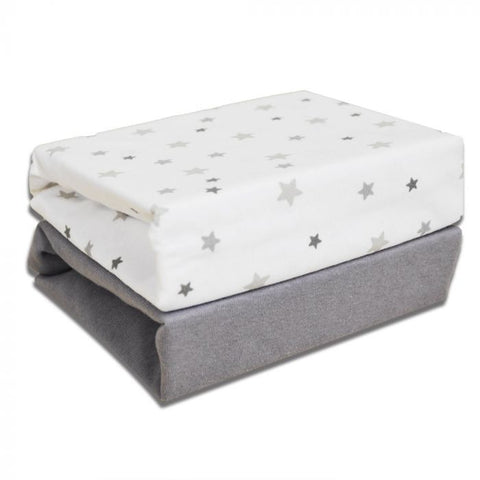 Cuddles N2M Sheets Grey Star