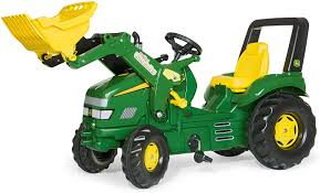 Rolly John Deere Xtrac with Loader