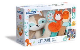 Clementoni Soft Spiral - Happy Animals