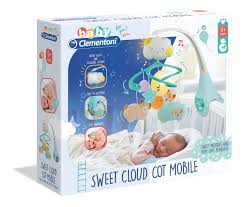 Clementoni- Sweet Cloud Cot Mobile
