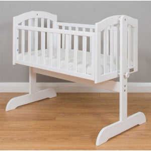 Stockholm Swinging Crib - White