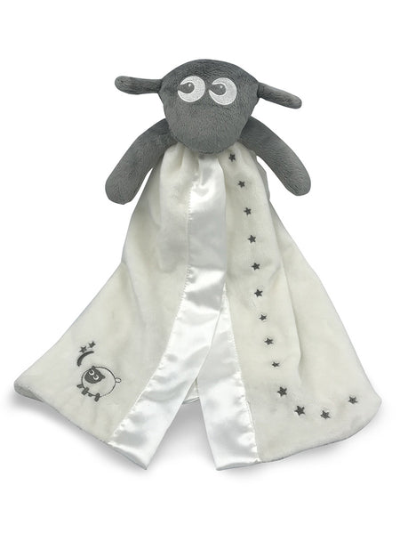 Ewan the dream sheep baa blankie Grey