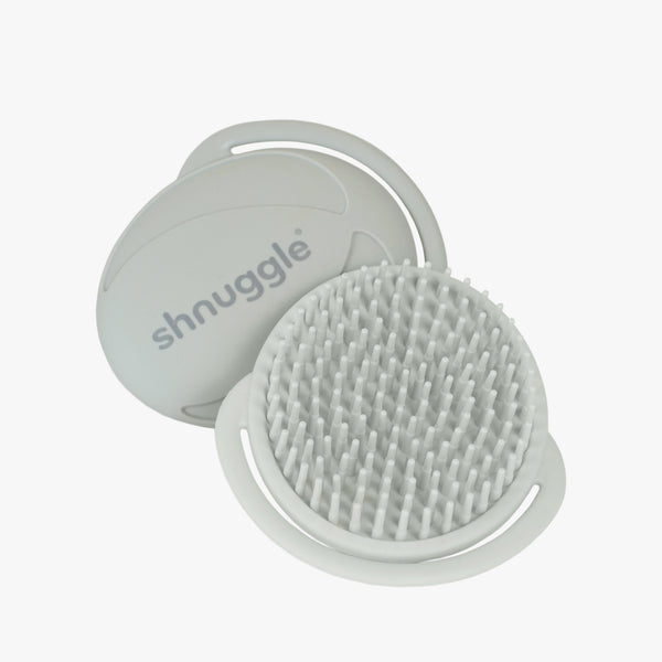 Shnuggle Baby Bath Brush Grey