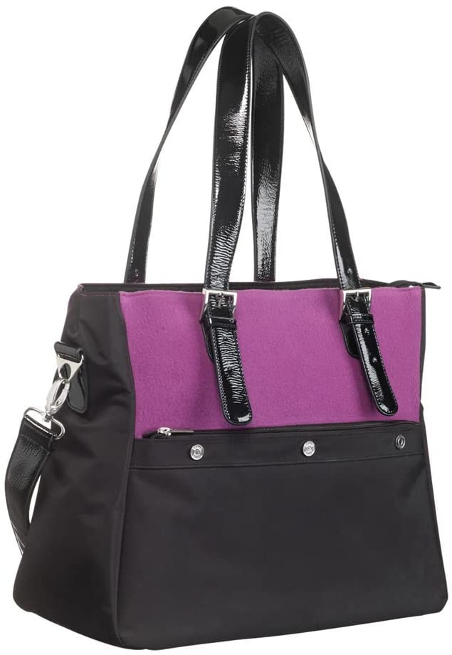 Icandy Changing Bag - Purple/Black