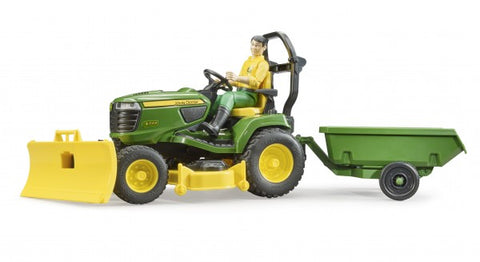John Deere Lawn Tractor With Accessories