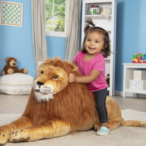 Melissa & Doug Lion-Plush