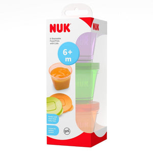 NUK 6 Stackable Food Pots