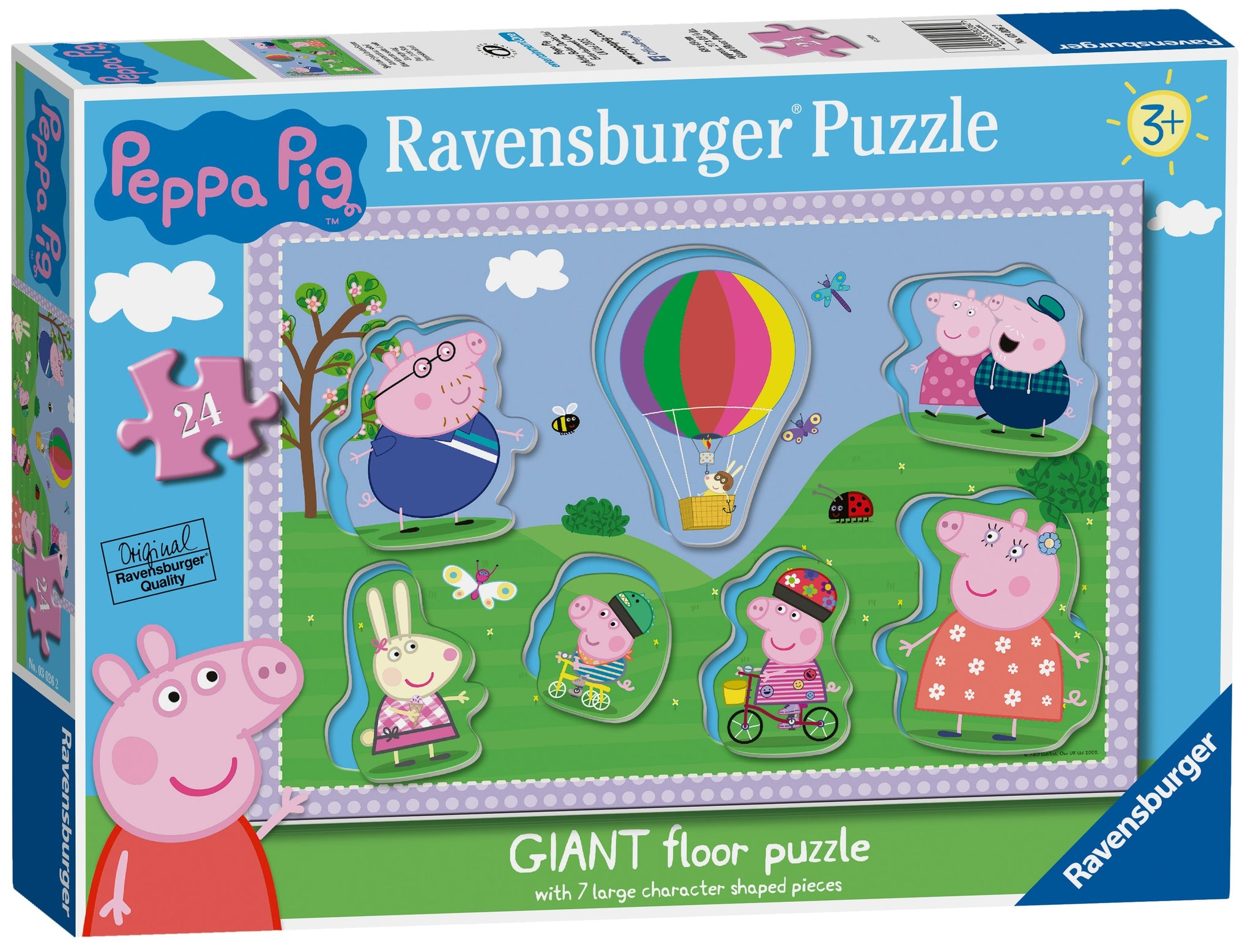 Peppa Pig Shaped 24 piece puzzle