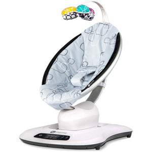 MamaRoo 4.0 Rocker/Bouncer Silver Plush