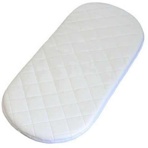 "Foam Pram Mattress (Round) 71x33cm (28x13"")"
