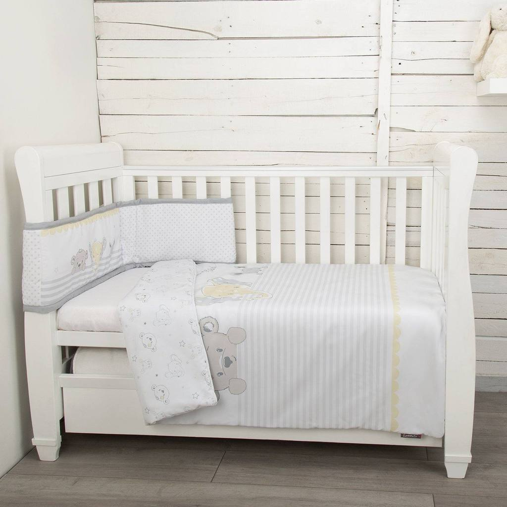 CuddleCo Sleeptight 2 Piece Bedding Set Cot / cotbed