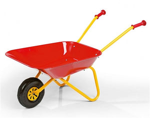 Rolly Wheelbarrow Red & Yellow