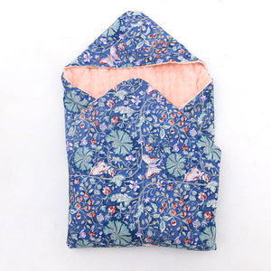 Little Love CarSeat Navy/Pink Wildflower
