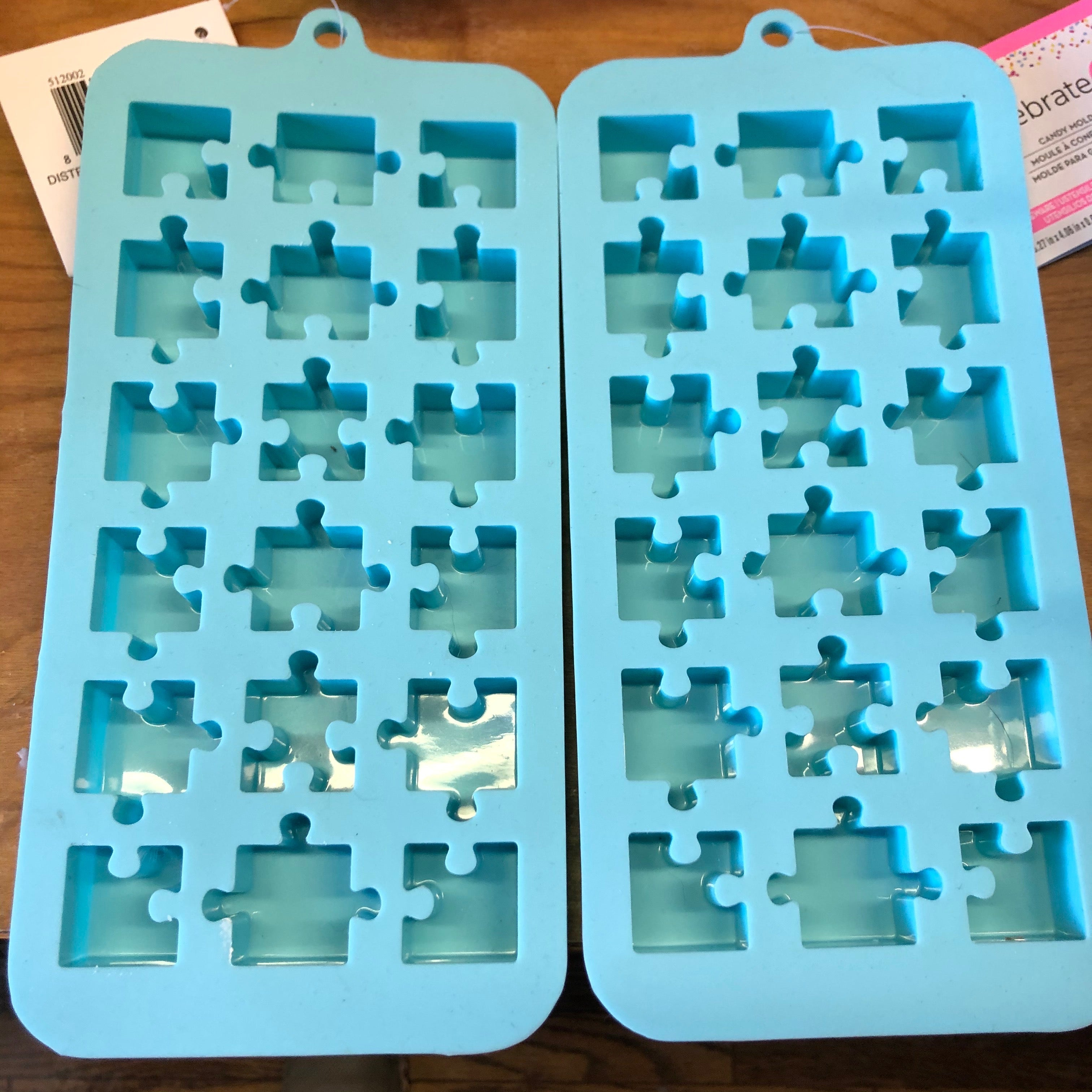 Puzzle Piece Soy Wax Melt Trinkets - Summer Scents (Autism Awareness)