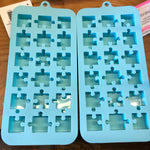Puzzle Piece Soy Wax Melt Trinkets - Winter Scents (Autism Awareness)