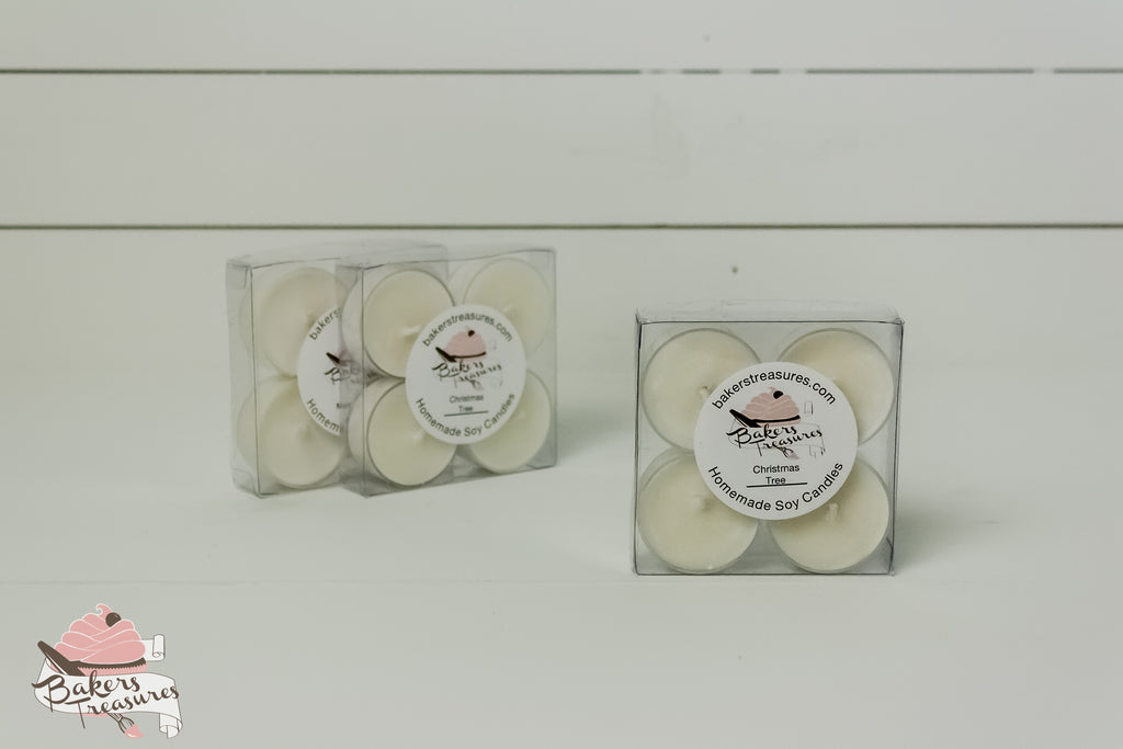 Tea Light 4 Pack
