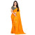 Fabulous Designer Tangerine Color Casual Wear Sanna Silk Saree