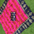 New Latest Designer Pink-Red Casual Wear Rangoli Sanna Silk Chaks Saree