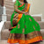 Memresing Green Colored Party Wear Khicha Silk Saree