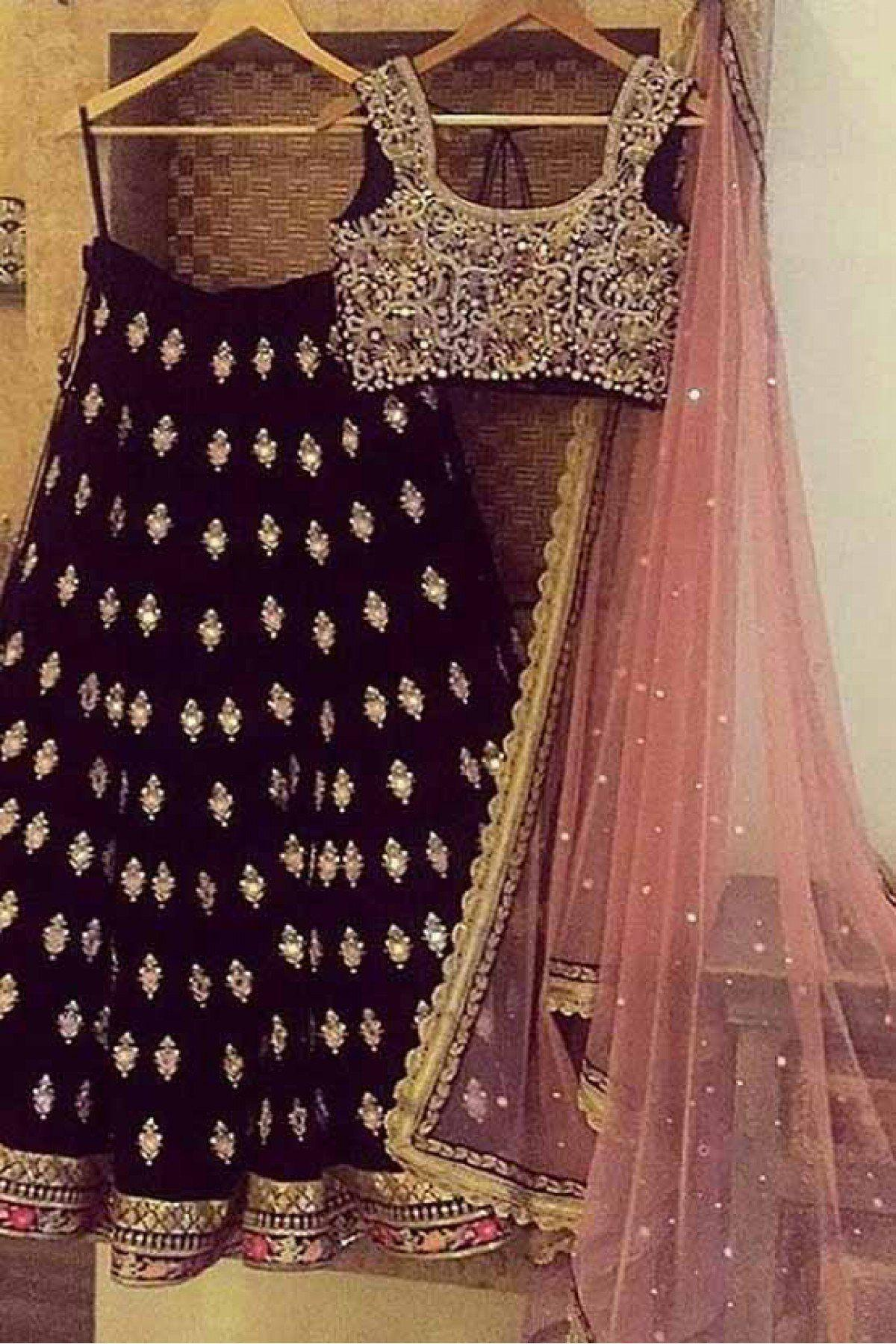 d5f610ab8e Stunning Maroon Colored Party Wear Banglory Silk Embroidered Lehenga Choli