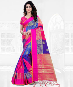 New Latest Multi Colored Designer Banglory Silk Festive Wear Saree-Palav Art