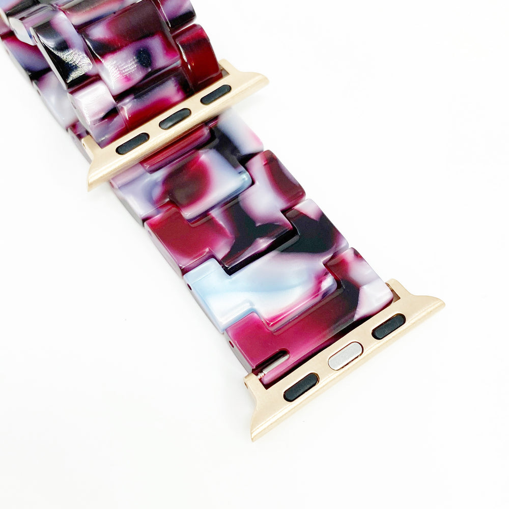 Apple Watch Band in Berry