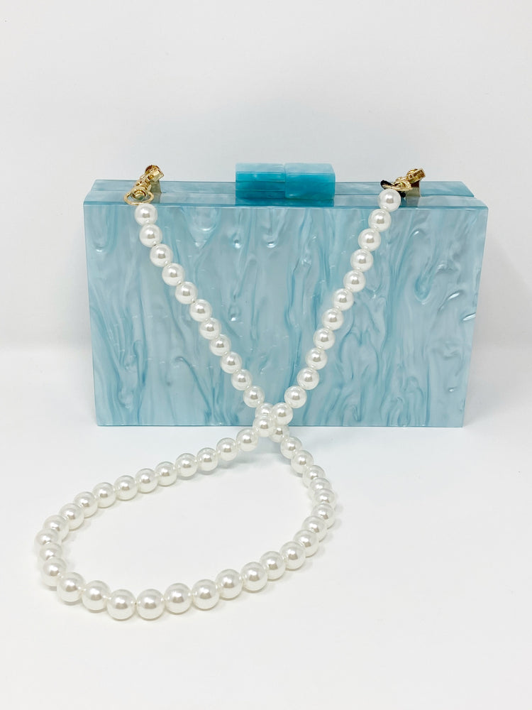 Acrylic Party Box in Light Blue
