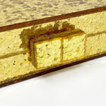 Acrylic Party Box in Gold Glitter