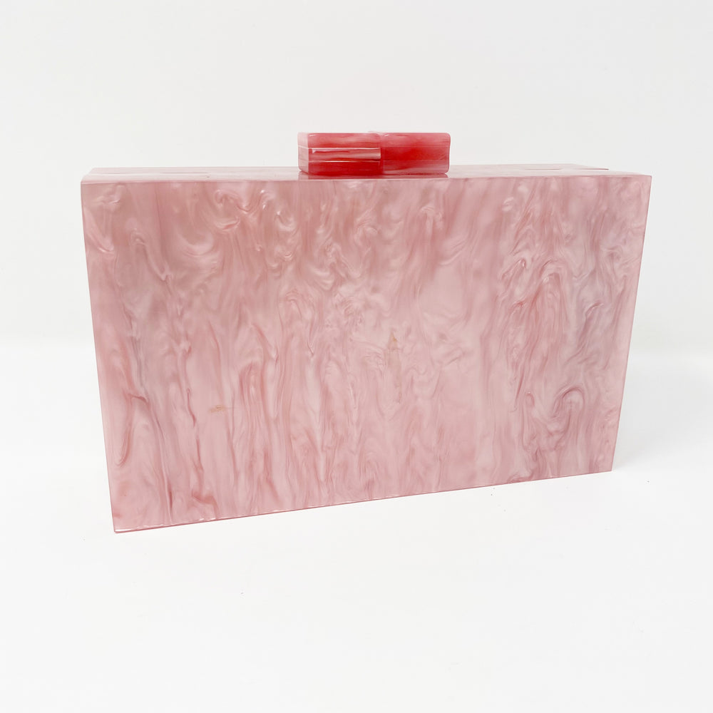 Acrylic Party Box in Light Pink