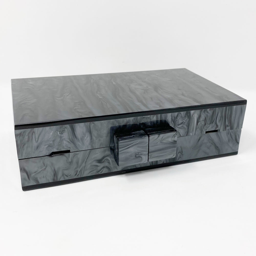 Acrylic Party Box in Pewter