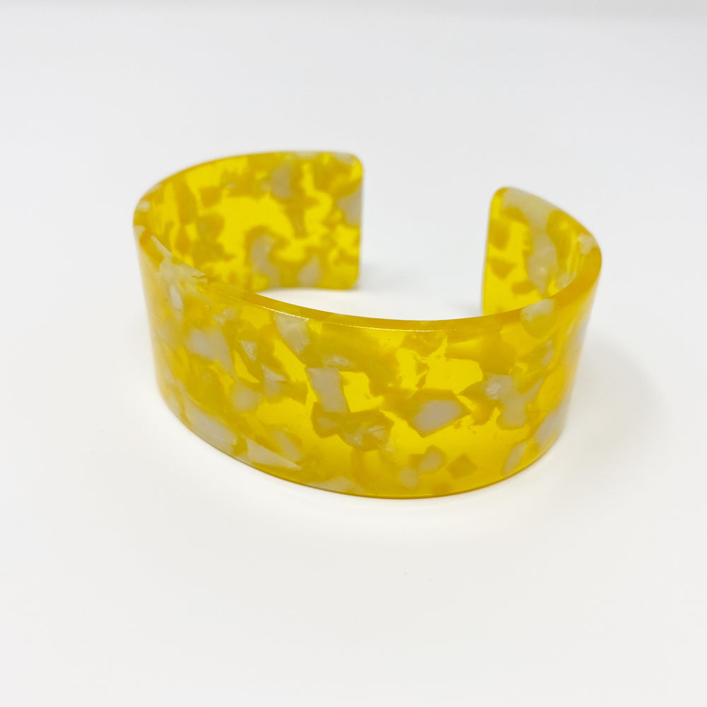 Large Cuff in Yellow