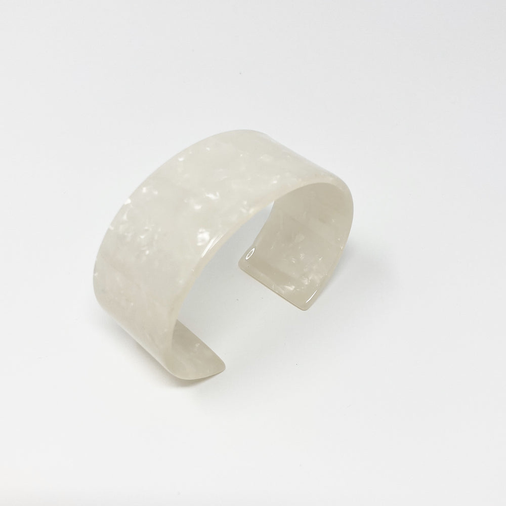 Large Cuff in White