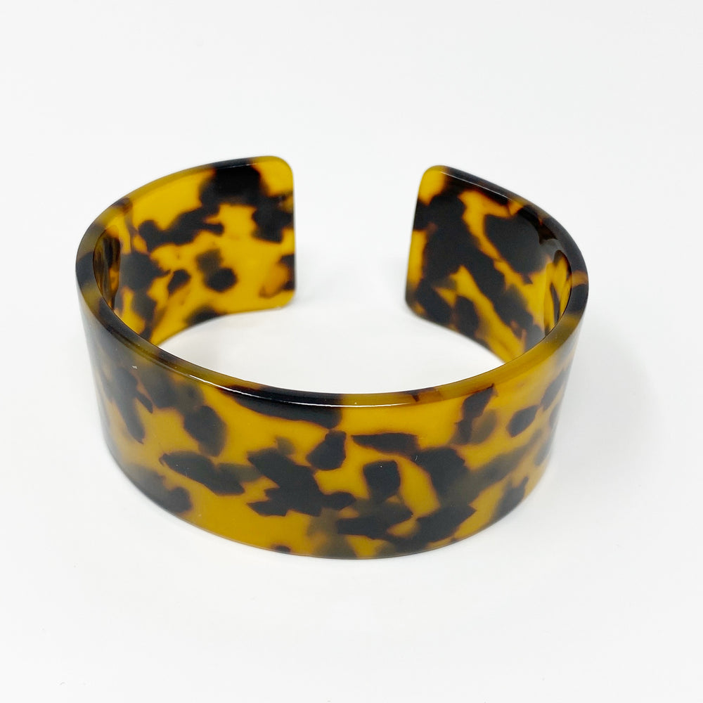 Large Cuff in Tortoise