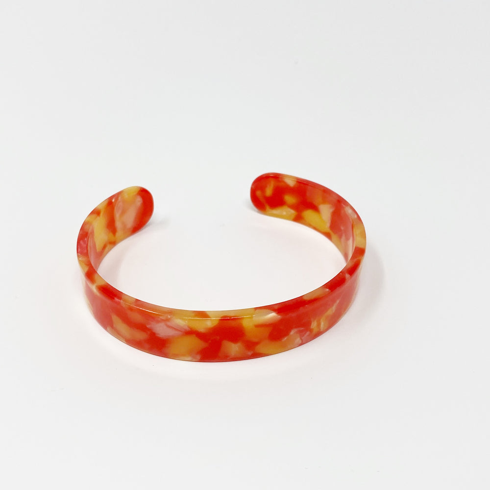 Medium Cuff in Red and Yellow