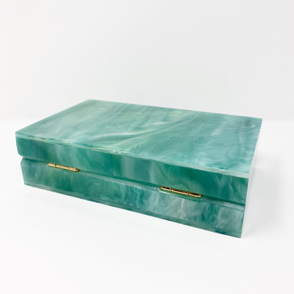 Acrylic Party Box in Mint