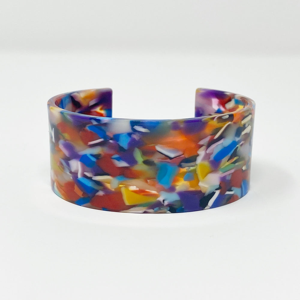 Large Cuff in Multicolor