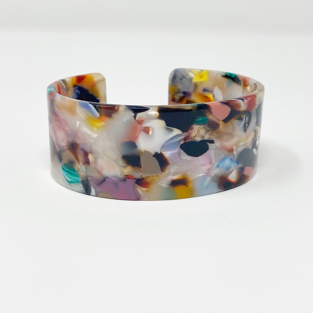 Large Cuff in Light Multicolor