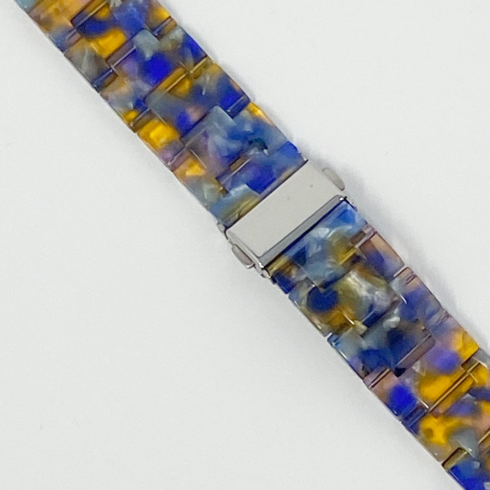 Apple Watch Band in Purple and Amber