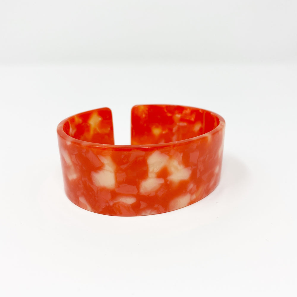 Large Cuff in Red and White