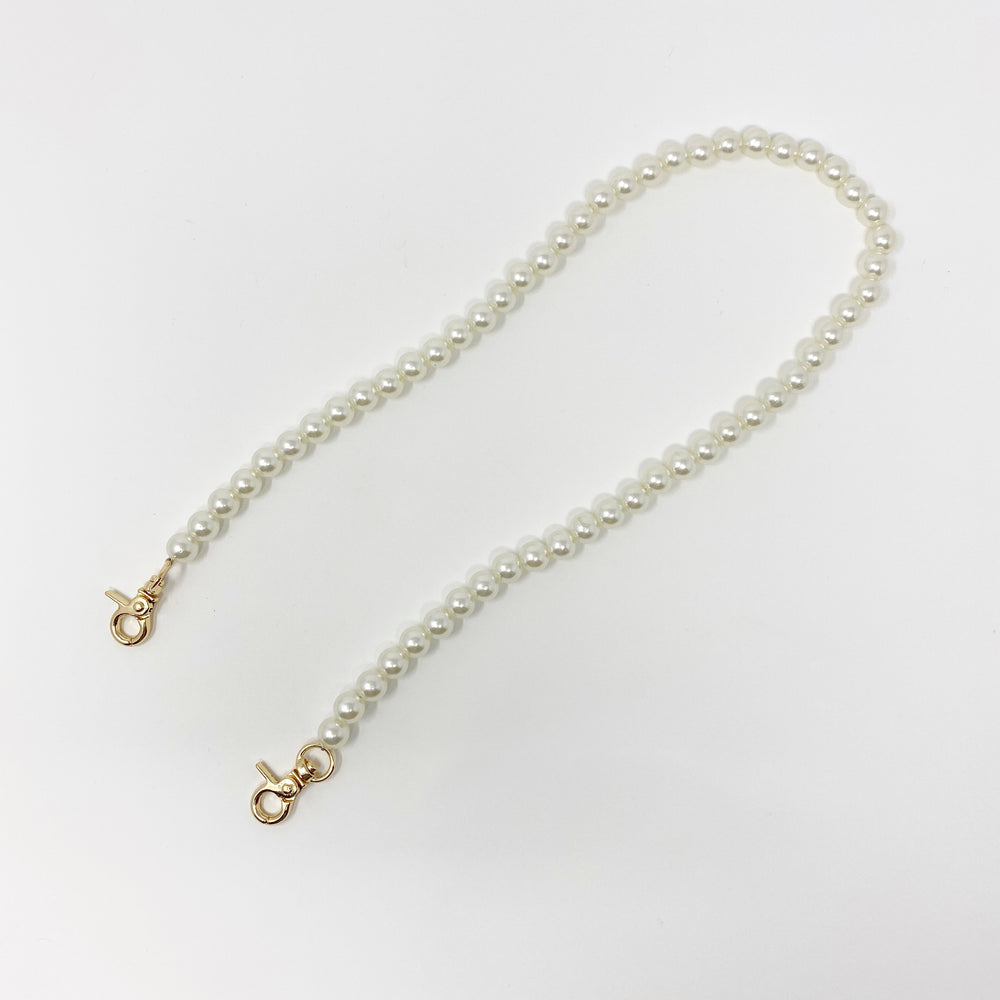 Mini Pearl Short Purse Strap