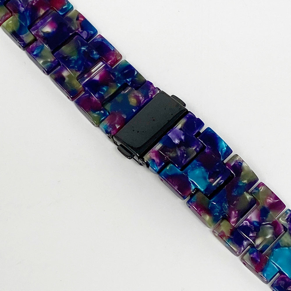 Apple Watch Band in Green and Purple