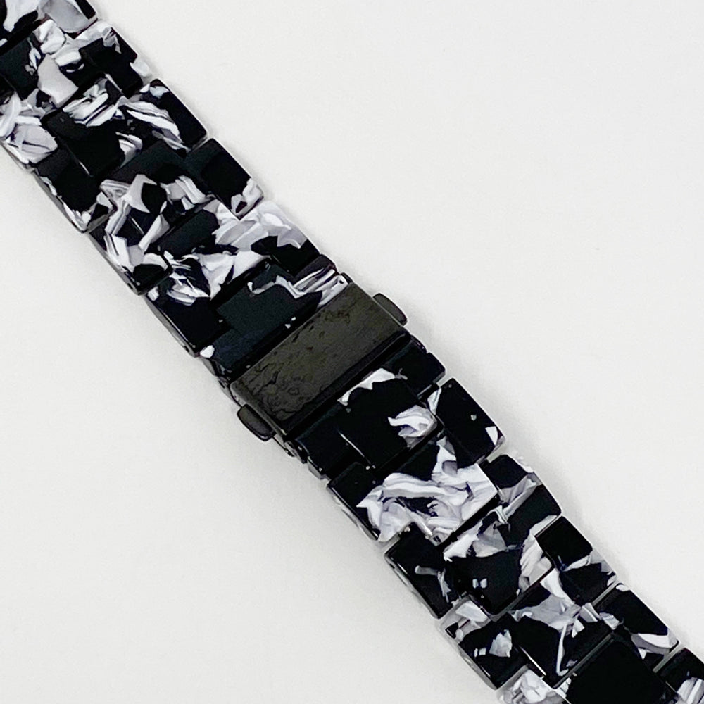 Apple Watch Band in Black and White