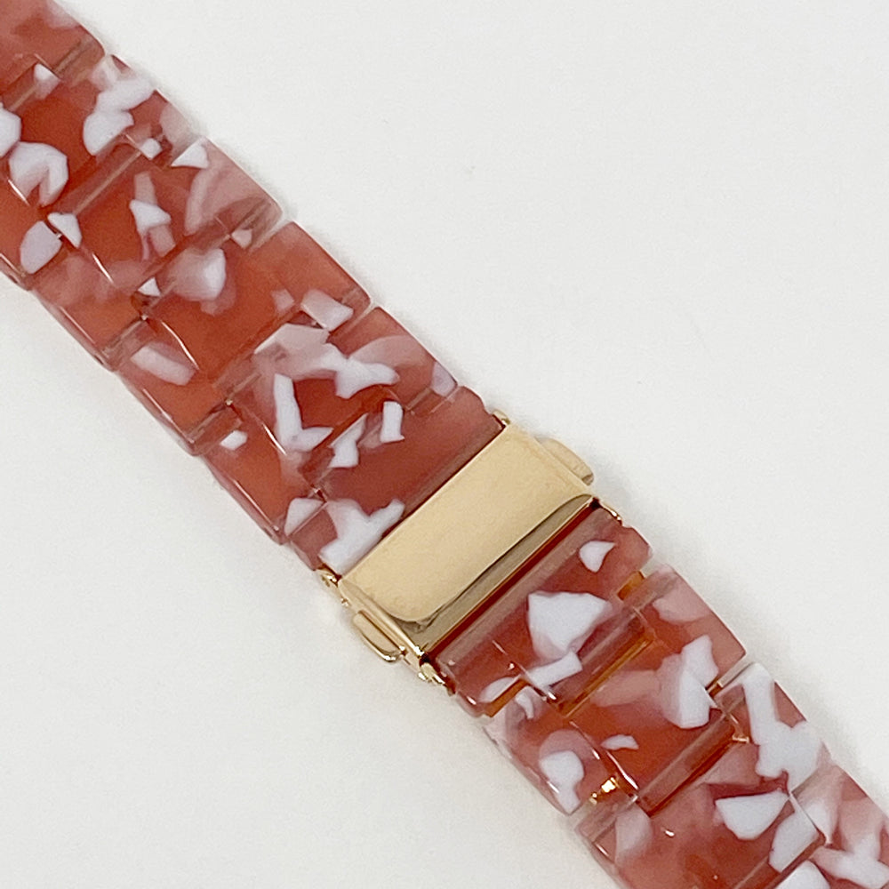 Apple Watch Band in Pink and White